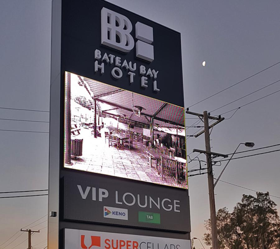 pub led outdoor signage
